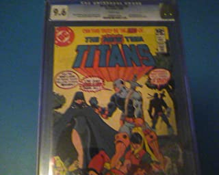 New Teen Titans #2 Cgc 9.6 White Pages DC Comics 1980 First Appearance of Deathstroke the Terminator.