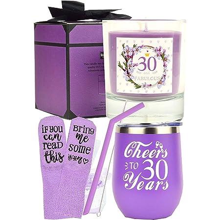 Regalos De 30 Cumpleaños Para Mujeres 30 Cumpleaños 30 Cumpleaños Vaso Decoraciones De 30 Años Para Mujer Regalos Para Mujer De 30 Años Regalos De Cumpleaños Para Mujer Kitchen Dining