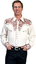 Scully Men's Embroidered Gunfighter Shirt