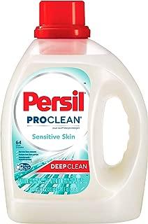 Persil ProClean Power-Liquid Laundry Detergent, Sensitive Skin, 100 Fluid Ounces, 64 Loads