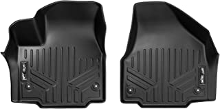 MAXLINER Floor Mats 1st Row Liner Set Black for 2017-2018 Chrysler Pacifica (Fits All Models)