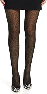 Best black cheetah tights Reviews