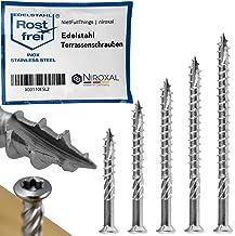 Terras-schroef van roestvrij staal TORX snij-inkeping, lenskop en freesribben van V4A 5-mm dik 80-mm schroeflengte 800 stu...