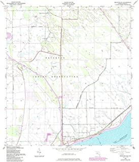 YellowMaps Brighton SE FL topo map, 1:24000 Scale, 7.5 X 7.5 Minute, Historical, 1953, Updated 1984, 26.7 x 23 in