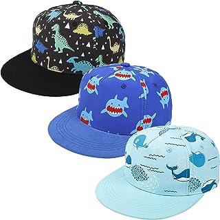 3 Pcs Kids Baseball Hat Toddler Sun Protection Hat Adjustable Sports Hat