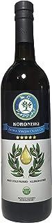 M.G. PAPPAS Koroneiki Extra Virgin Olive Oil - Unfiltered First Cold Pressed Pure Fresh Greek EVOO - Allergen Gluten Free Polyphenol Oil Greece - Cooking Salads Baking 25.5 Oz (750 ml) Glass Bottle