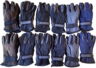 Yacht & Smith Value Pack of Unisex Warm Winter Fleece Gloves, Many Colors, Mens Womens, One Size