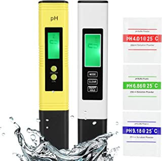GroTheory PH Meter and TDS Meter Combo, PH Tester Digital, PPM Digital Water Tester, 0.05ph High Accuracy Pen Type pH Mete...