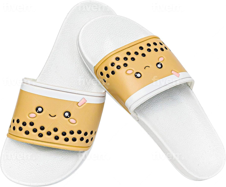 Boba Slippers Sport Slides Milk House Tea Shower Sandals Popular product Beach Popular popular