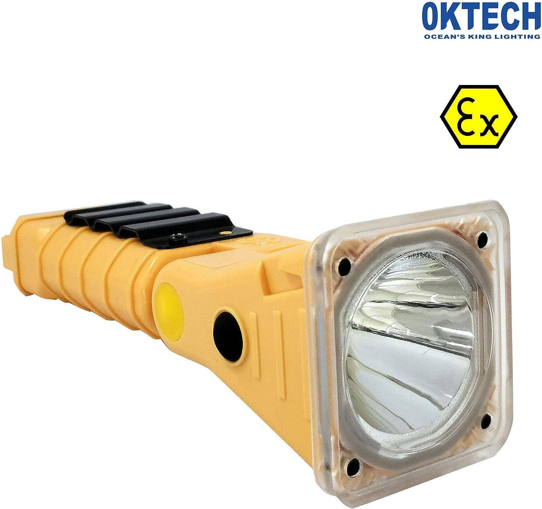 OKTECH JW7627 ATEX ATEX ATEX Explosionssichere 3W LED-Taschenlampe Multifunktionale Taschenlampe Starkes Licht 90lm 125lm 8-10Hz Arbeitslicht Aufladbare Batterie B07JH98GB8 | Zürich Online Shop  15a131