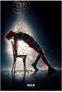 achiever world poster Marvel Deadpool 2 Flashdance 12x12