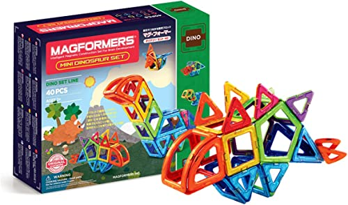 garantía de crédito Magformers Magformers Magformers 708003 - Juego de Mini Dinosaurios magnéticos (40 Piezas)  muy popular
