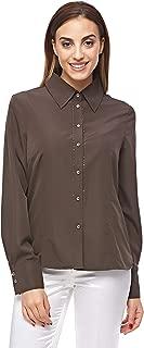 Pierre Cardin Shirts For Women, Brown 34 EU