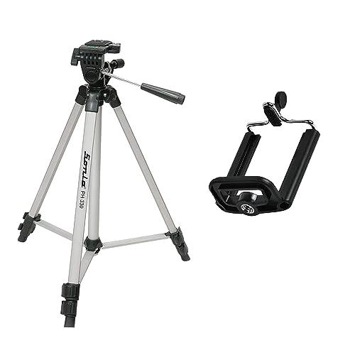 Sonia PH 330 Tripod With Bag For Digital SLR & Video Cameras (Load Capacity 3000 Grams)