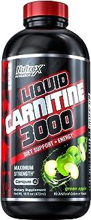 Nutrex Research Liquid Carnitine 3000, 473 ml, Green Apple