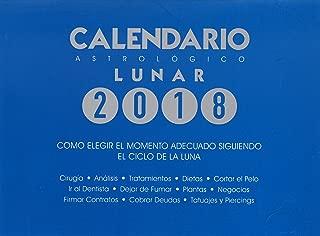 Calendario astrológico lunar 2018