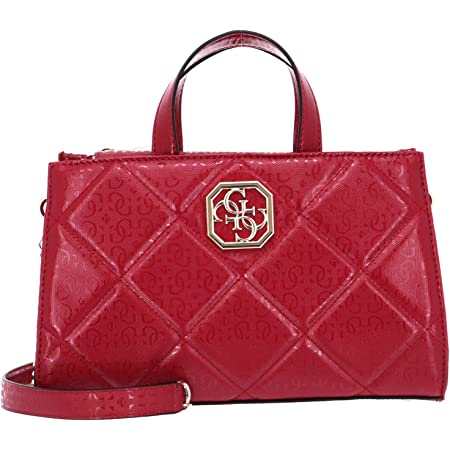 Guess Dilla Society Satchel Berry