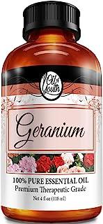 4oz Bulk Geranium Essential Oil – Therapeutic Grade – Pure & Natural Geranium Oil