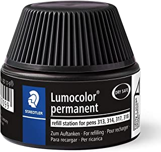 Staedtler Lumocolor Permanent Pen Black Refill Station for 31 series