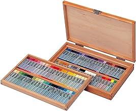 Cray-pas Specialist Premium Artist Quality Oil Pastels Square Stick 88 Piece Wood Box Set