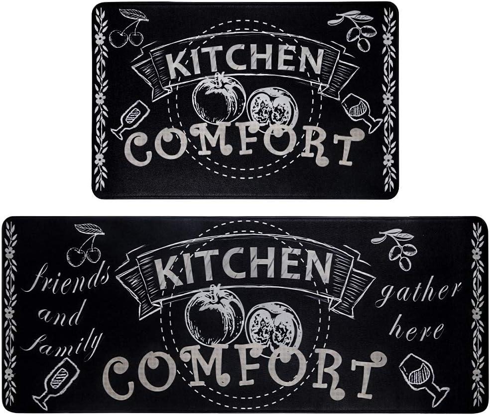 HEBE Attention brand Anti Fatigue Kitchen Floor Mat of Cushioned Non Set Slip 2 Brand Cheap Sale Venue