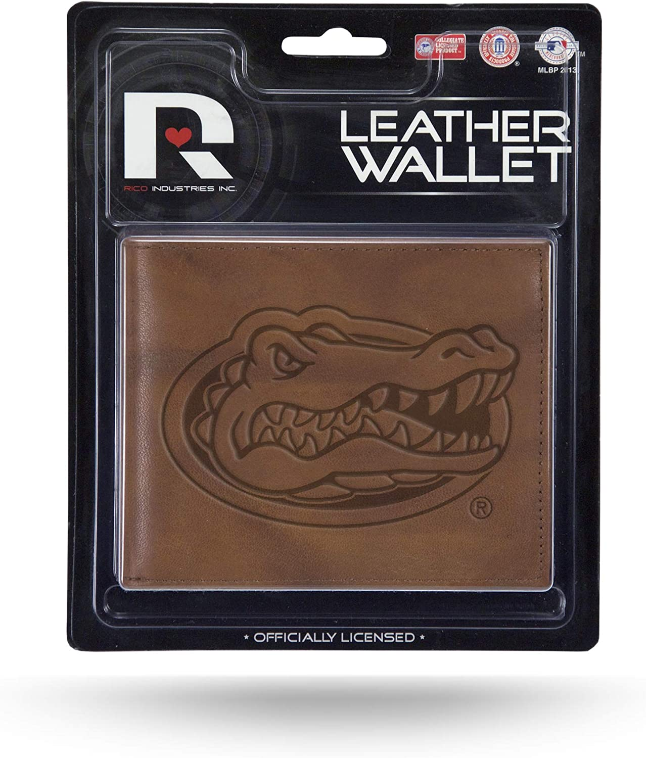 Rico MBL100101 NCAA Florida Gators Ranking TOP1 Embossed Factory outlet Billfold Leather Wal