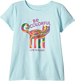 Be Colorful Cat Crusher™ Tee (Little Kids/Big Kids)