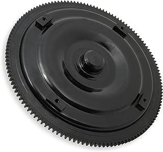 American Shifter 499713 TH200 Shifter Kit 8 Dipstick CHR Push Btn Billet Knob for EE2E4