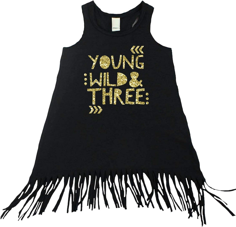 Wild and Free Mint Fringe Toddler Tank Dress Baby Girl Boho Fringe Tank Dress