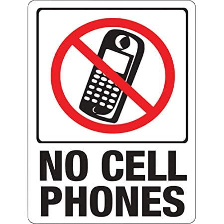 Hotel Details about  /No Cellphone Sign Privacy No Mobile Phone No Phones Please Quiet Zone