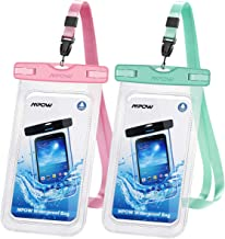 Mpow 097 Universal Waterproof Case, IPX8 Waterproof Phone Pouch Dry Bag Compatible for iPhone 11/11 Pro Max/Xs Max/XR/X/8/8P Galaxy up to 6.8