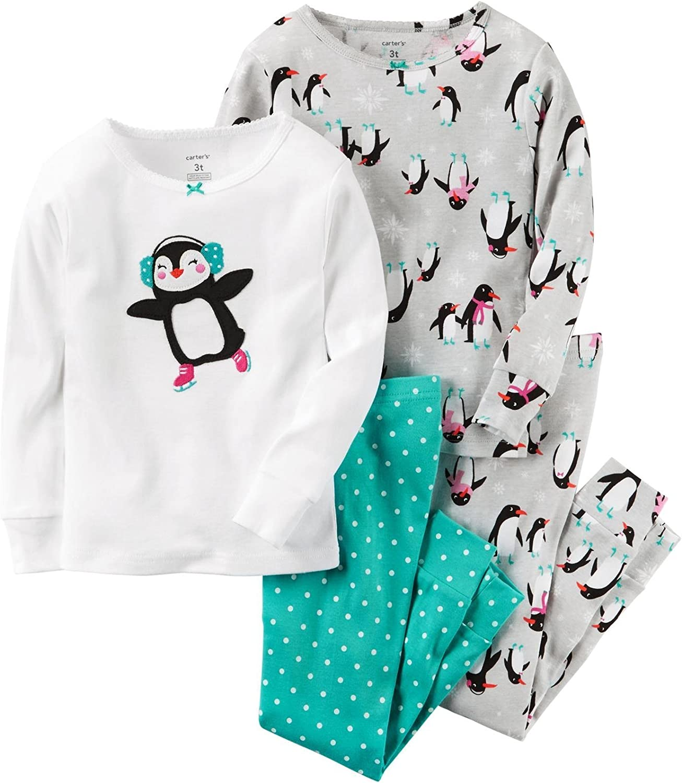 Carter's Baby Girls' 4 Pc Cotton 331g171