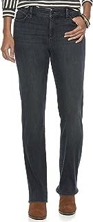 Women's Petite Regular Daniella Curvy Fit Straight Leg Jeans, Windham Wash (10 Petite Regular)