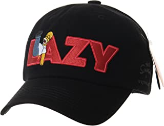 WITHMOONS The Simpsons Ball Cap Lazy Homer Simpson Embroidery HL1777