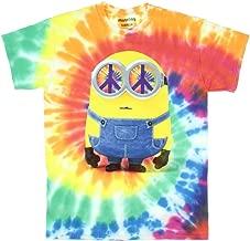 Minions Hippie Minion Tie Dye Licensed Graphic T-Shirt