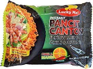 Lucky Me! Instant Noodle Soup (Chili Mansi, 30 Pack)