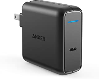 MacBook Pro Charger, Anker 60W USB-C Power Adapter, PowerPort Speed 1 Compact Type C PD Wall Charger, for MacBook Pro/Air 2018, HP Spectre, Dell XPS, Matebook, iPad Pro, iPhone, Galaxy and More