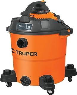 Truper ASPI-12, Aspiradora/Sopladora plástica, líquidos y sólidos 12 gal (45 L)