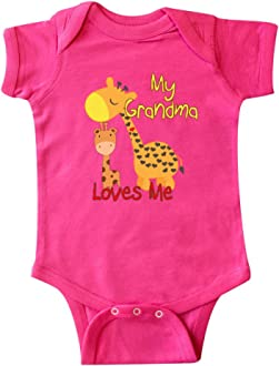 inktastic I Love My Grandmother Ovarian Cancer Awareness Infant Tutu Bodysuit