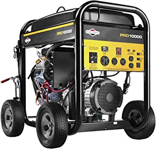 Briggs & Stratton 10,000 Watt Pro Series Generator, Model Number: 30556