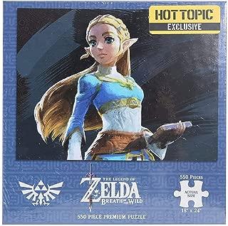 The Legend of Zelda: Breath Of The Wild Princess Zelda Hot Topic Exclusive Puzzle