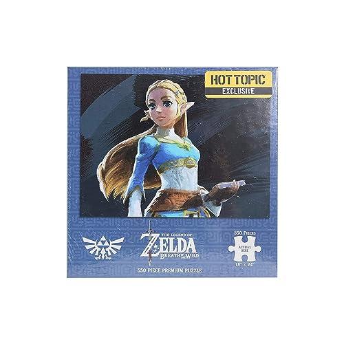 145e2142b6cb The Legend of Zelda  Breath Of The Wild Princess Zelda Hot Topic Exclusive  Puzzle