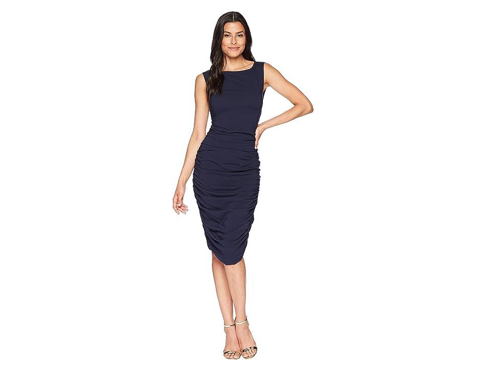 Kenneth Cole New York Tri Layer Dress (Indigo) Women