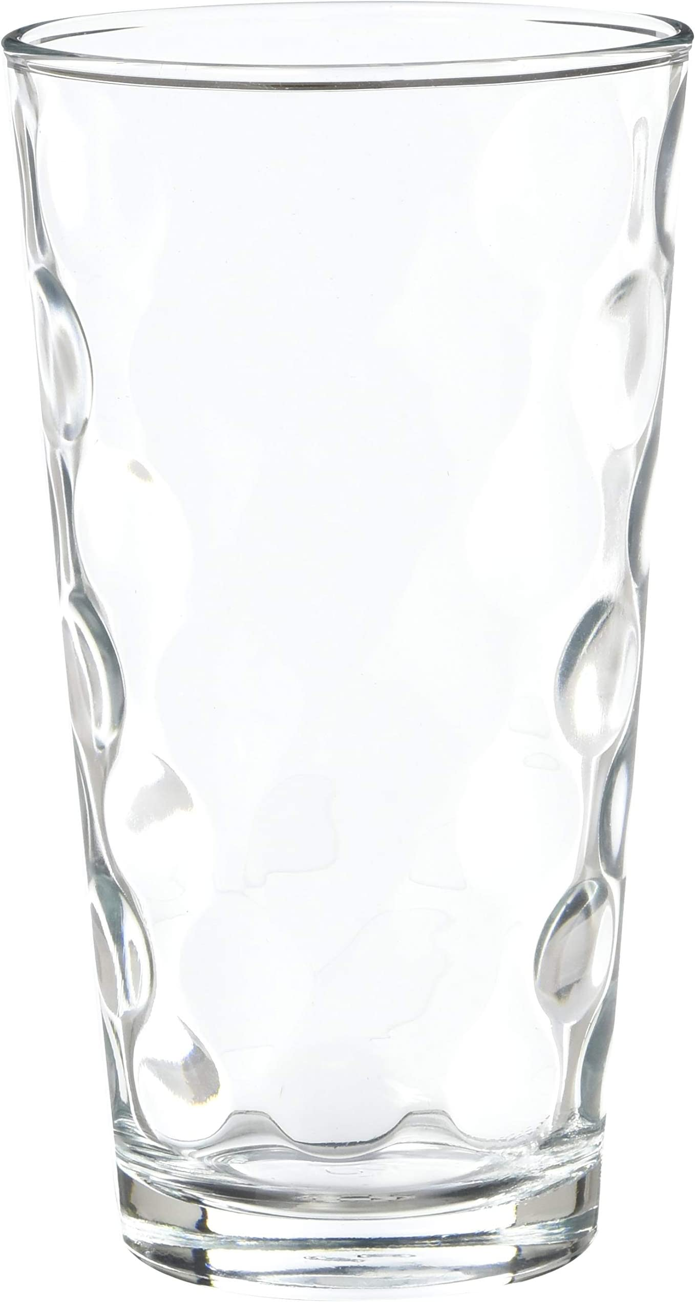Home Essentials Eclipse 17oz Hiball Round Glasses Set of 10 Coolers