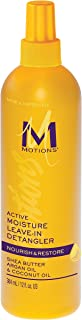 (PACK OF 3) MOTIONS PROFESSIONAL SALON ACTIVE MOISTURE LEAVE IN DETANGLER 12oz