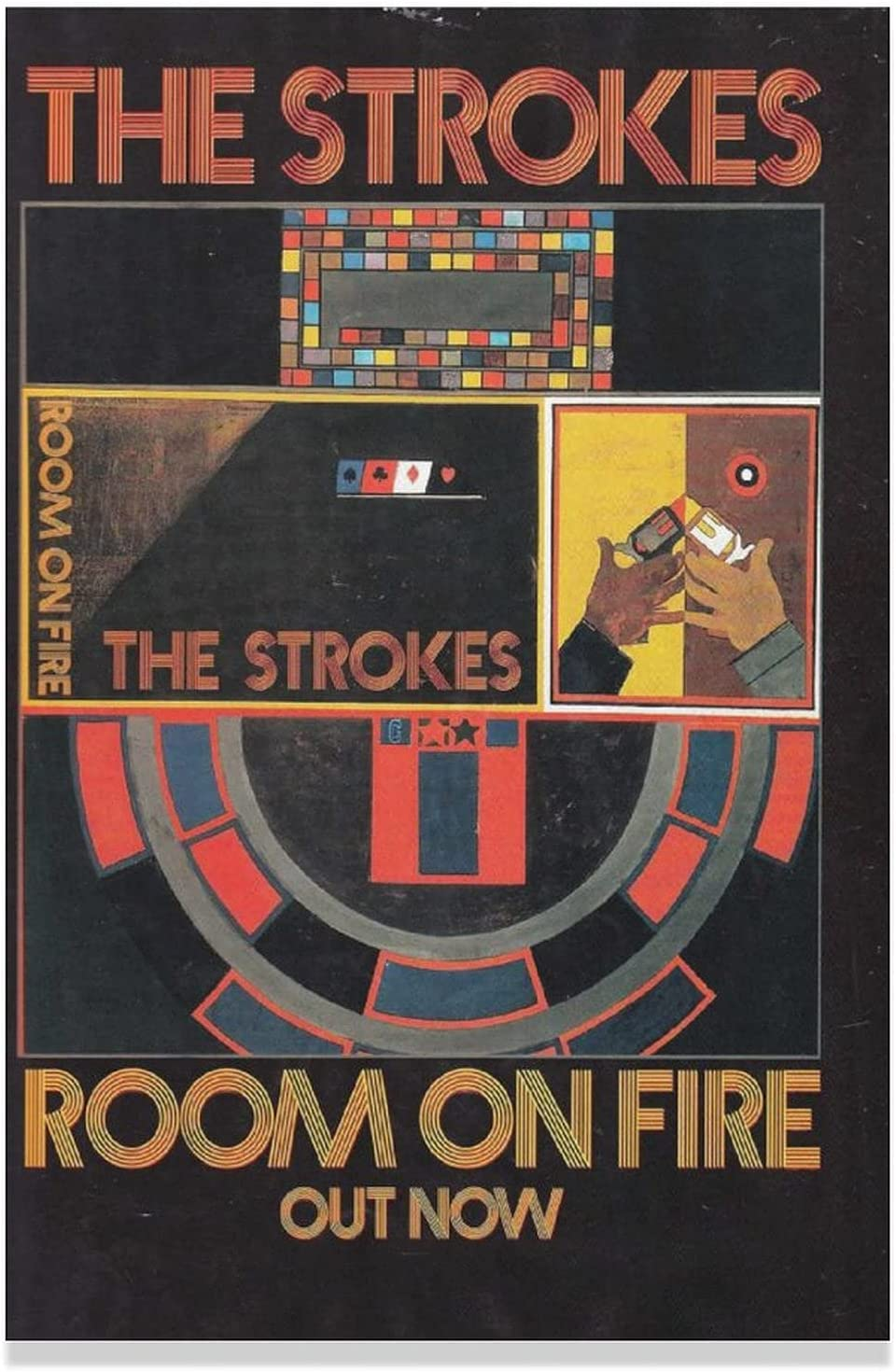 Room on Inventory cleanup selling sale Fire by The Strokes Surprise price Art Wall Poster Cover Canvas