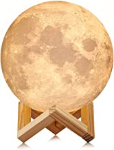 "Comiwe Moon Lamp,15 cm (5.9"") LED, Touch Control, 3 Color Modes Warm, Warm White & Cool White"