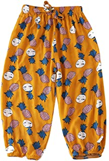 baby girl cropped trousers