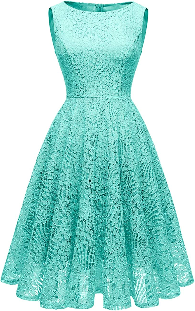 Kingfancy Women Floral Lace Max 53% OFF Bridesmaid Popular brand in the world Short Cocktai Dress Party