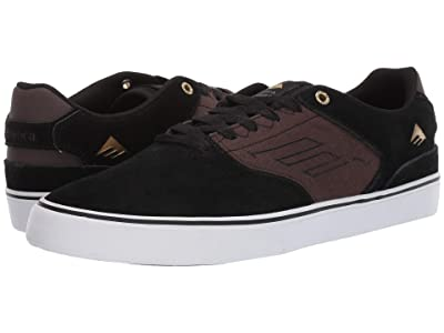 Emerica Low Vulc (Black/Brown/Grey) Men